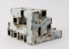 H-13cm; 2008; Porcelain, celadon glaze, gas reduction firing; (in Guldagergaard)