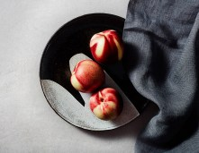 """Lindsay Rogers, """"Plate with Peaches"""""""