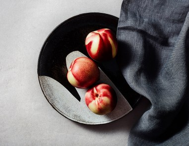 "Lindsay Rogers, ""Plate with Peaches"""