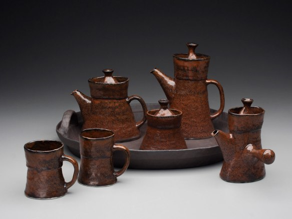 """Porcelain and Stoneware, 13"""" x 29"""" x 19"""""""