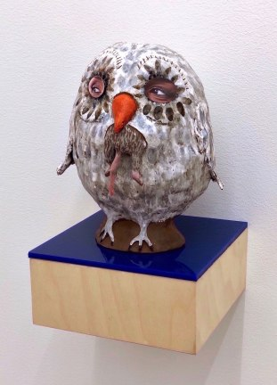 "Margaret Meehan, ""Gentle Bird: Side Eye"""
