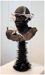Ceramic and wood, 50cm x 35cm x27.5cm, 2012