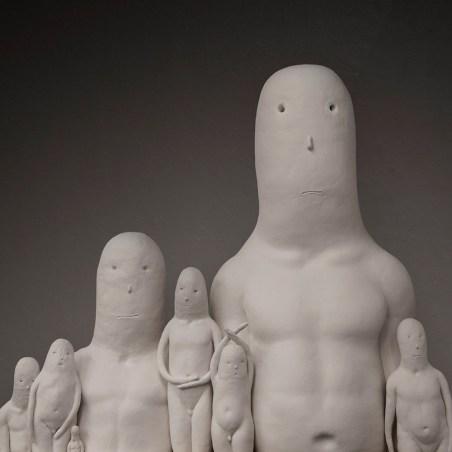 "Ceramic. 76"" x 30"" x 64"" in height. 2018."