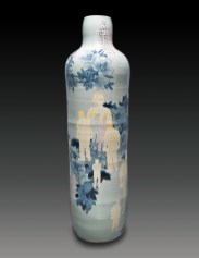 hand-painted cobalt underglaze (Qing Hua)