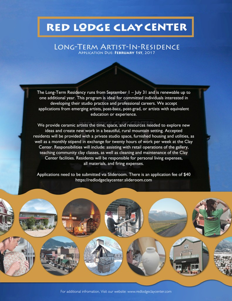 Red Lodge Long Term Residency poster