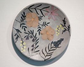 "Ruth Easterbrook, ""Bloom Large Platter"""