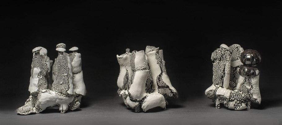 refractary, personal clay, glaze. 1150C