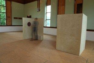 """Fired Ceramic, Birch Plywood, 15' x 48"""" x 72"""""""