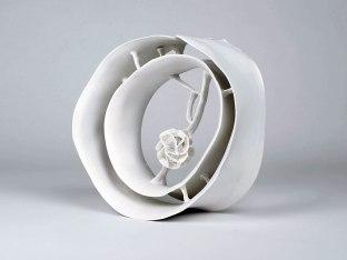 Porcelain, 2014, 12 × 5 × 12 inch