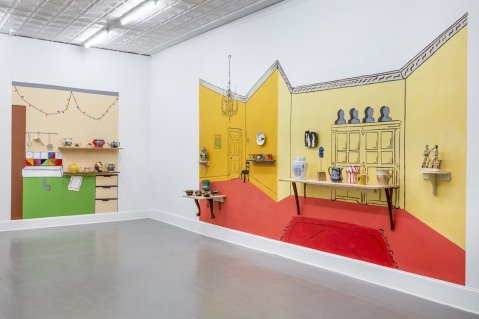 "Ginny Sims, ""A Room from Six Towns"" (northwest view)"