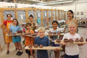 NCC Clay Campers and Assistants
