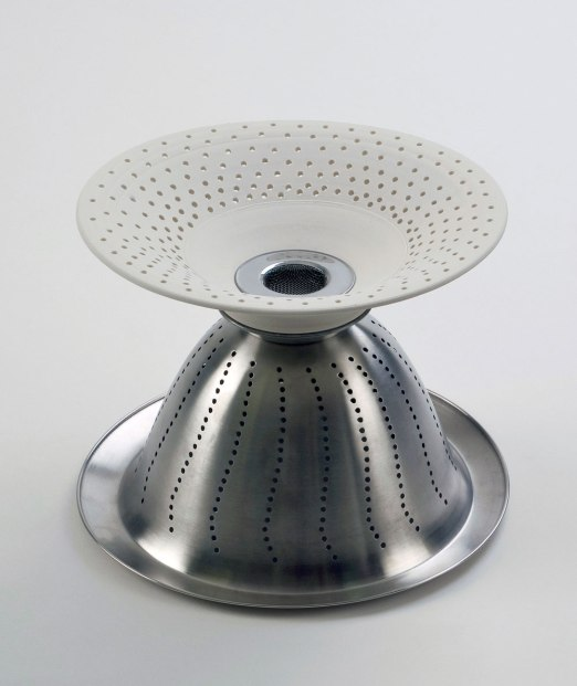 "porcelain, stainless steel, 14""x24""x14"", 2010"
