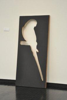 """72""""x 36""""x 3"""", wood, enamel, 2013"""