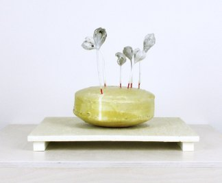 2014, Porcelain and mixed media