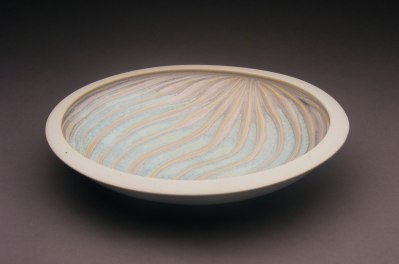 Porcelain. 10.5' in diameter