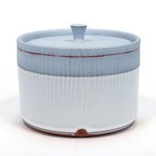"Alex Watson, ""Baby Blue and White Jar"""
