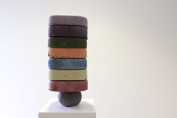 2017, Pigmented Concrete, Unfired Clay, 12x6x12
