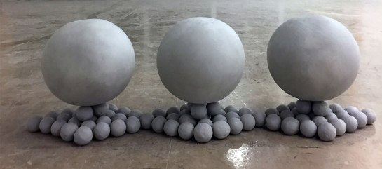 2016, Unfired Clay, 8x24x6