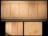 "Untitled (SHSU Pre-Benfer), 2006, mixed media, 72 x 226 x 2"""