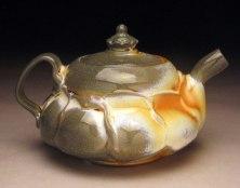 Porcelain, Soda fired with Titanium Slip