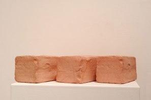 2015, Slip Cast Ceramic, Stain, Wax, 11 x 36