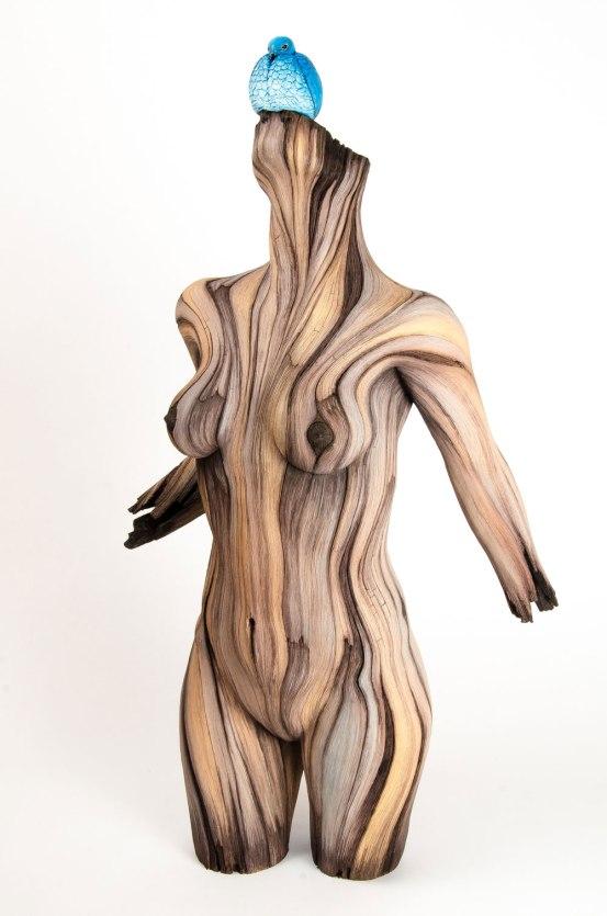 Ceramic, acrylic, 70cm x 38cm x 23cm, 2017