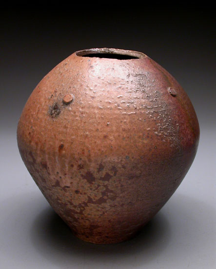 Rust Colored Vase