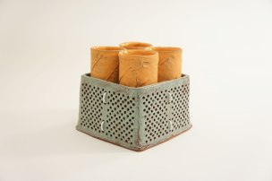 "Sunshine Cobb, ""Tea Tumbler Set"""