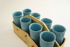 "Sunshine Cobb, ""Tea Tumbler Tote"""