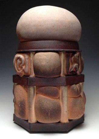 "2014, Wood Fired Ceramic, 24"" x 16"" x 16"""