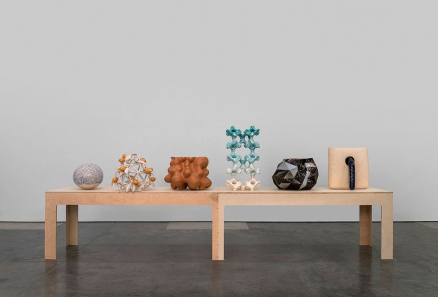 2014, hand built and glazed earthenware and slip cast porcelain, photo credit: none