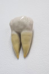 "Porcelain and Latex, 3"" x 2"" x 1.5"", 2013"