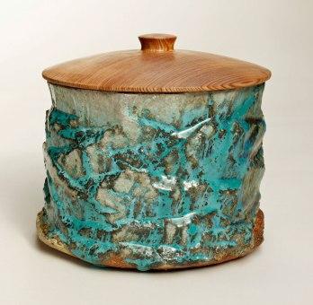 2017, Wood fired stoneware, Redwood
