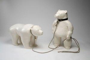 """glazed ceramic, 44"""" x 38"""" x 28"""", 2009"""