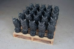 """cast ceramic, 16"""" x 5"""" x 5"""", 2011"""