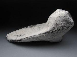"Wire, Fiberglass, Slip, Glaze, 11""x15""x7"", 2012"