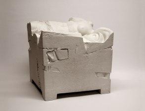 31x30x30 cm., stoneware, engobe, 2015