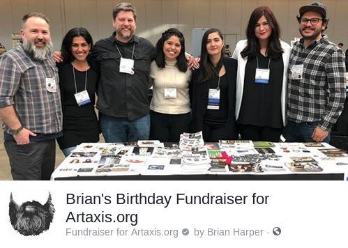 Brian Harper's Birthday Fundraiser