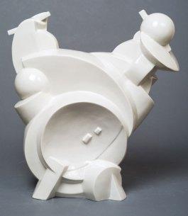 Porcelain. 32х30.5х19 сm