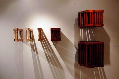 porcelain, wood, flocking, Fall 2010
