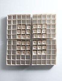 Dimensions: 80cm H X 80cm W, Porcelain 40cm H X 40cmW, Material: Porcelain
