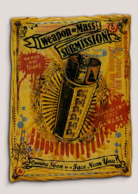 Weapons of Mass Submission Poster