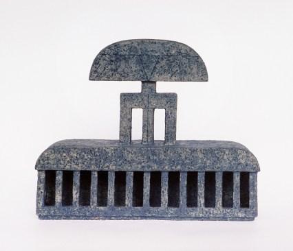 handbuilt, chamotte, h – 25 cm, 1997