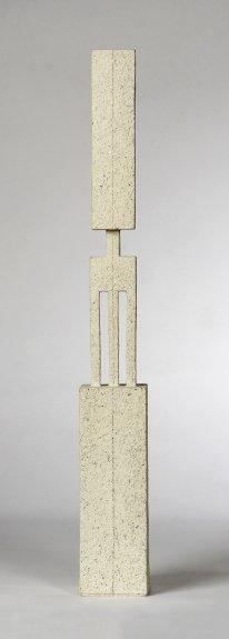 handbuilt, chamotte, h – 68 cm, 2008