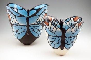 "Judith De Vries, ""Blue Morpho's"""