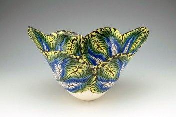 "Judith De Vries, ""Featherleaf bowl"""