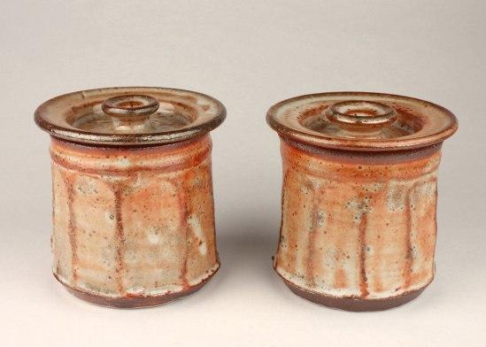 "Joe Hicks, ""Faceted Jar Set"""