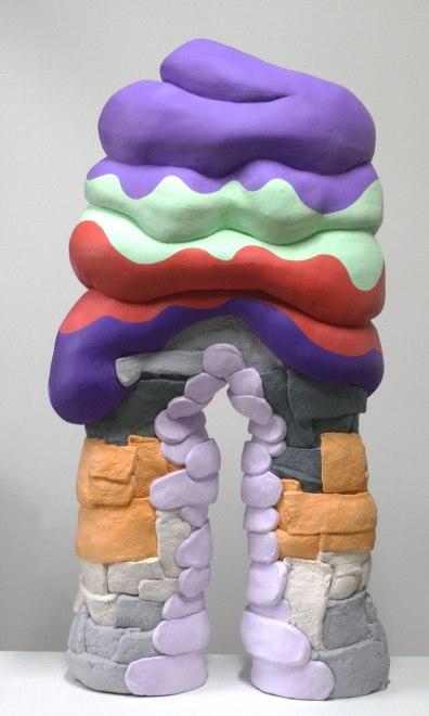 Ceramic, Acrylic, 44 x 23 x 12 inches, 2012