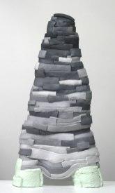 Ceramic, Acrylic, 41 x 22 x 8 inches, 2012