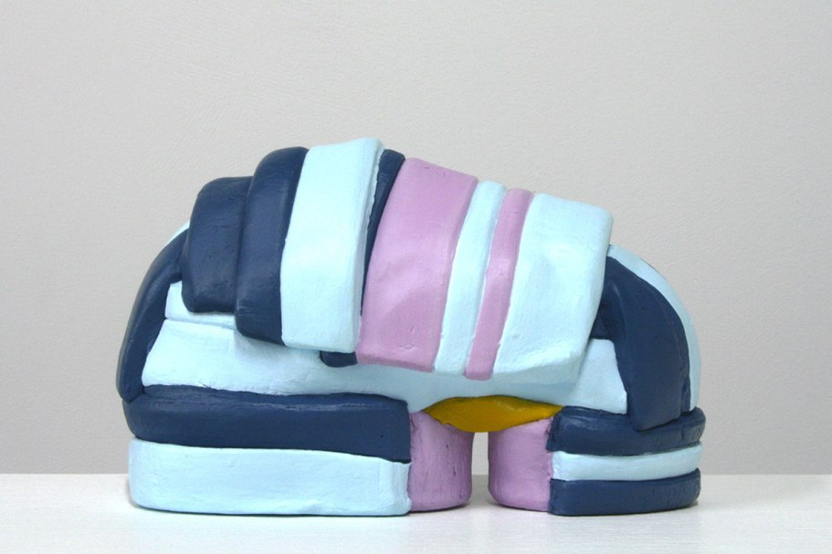 Ceramic, Acrylic, 4 x 6 x 2 inches, 2011